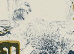 La couturière (The Seamstress), from Album de la Revue blanche