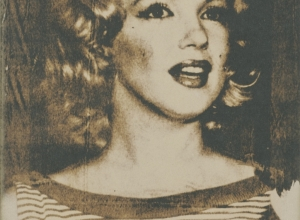 The Young Marilyn Monroe (from the Marilyn Series), 1989.4.9b