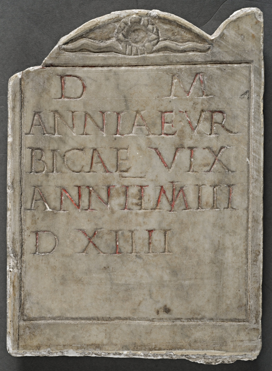 Plaque from the tomb of Annia Urbica