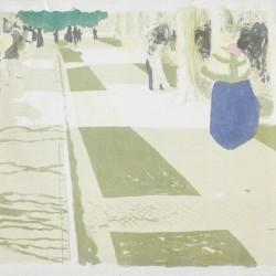 L'avenue, from the series Paysages et Intérieurs