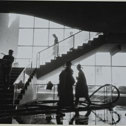 Scene of the MOMA fire, NYC, Interior