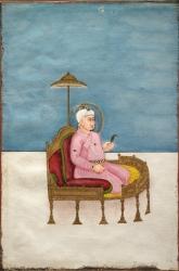 Portrait of Akbar