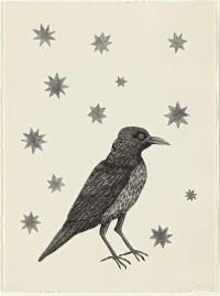 Bird with Stars