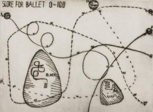 Score for Ballet 0–100 from Portfolio of Eleven Original Works