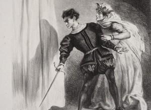 The Murder of Polonius from Hamlet