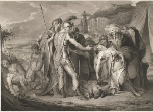 King Lear and Cordelia, Act V, Scene iii, King Lear