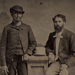 Two Freed Black Men, 1860s