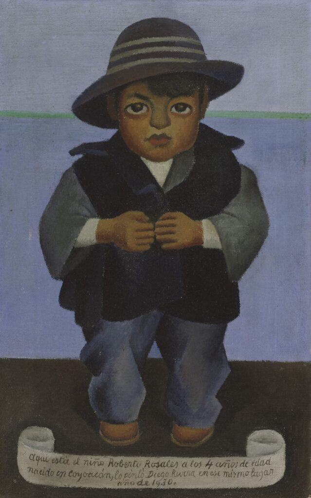 Diego Rivera Mexican, 1886 - 1957 Roberto Rosales, 1930 Oil on canvas Gift of Mrs. Bernard Barnes (Carolyn Payne, class of 1934) 1988.50