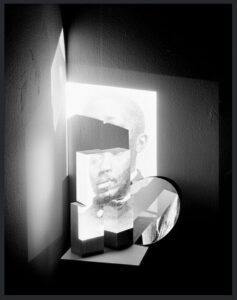 """Aaron Turner, American, b. 1990, """"Untitled (looking for self-preservation)"""", from the series """"Black Alchemy Vol. 1"""", 2015  Archival inkjet print Purchase, Advisory Council for Photography 2020.6.2"""