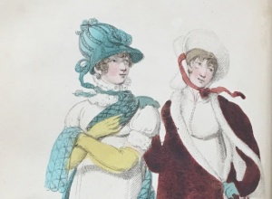 Fashion plate from La Belle Assemblée, or, Bell's Court and Fashionable Magazine