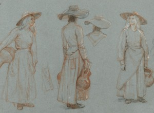 Studies of a Southern Peasant Woman