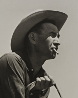 Cowhand, William Tonn Ranch, Custer County, Montana