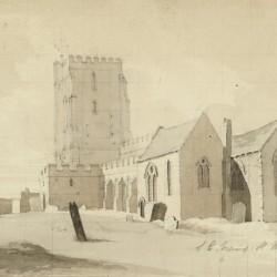 Southeast View of St. Nicholas Church, Thanet, Kent