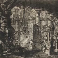 Carceri d'Invenzione, pl. XVI