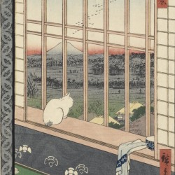 Asakusa Ricefields and Torinomachi Festival, from the series One Hundred Famous Views of Edo