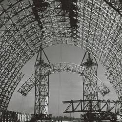 Hangar Construction, Lakehurst, New Jersey