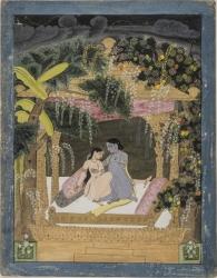 The Pavilion of Love: Radha and Krishna
