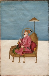 Portrait of Shah Jahan