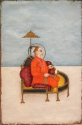Portrait of Bahadur Shah