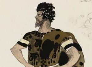 Dorcon, Costume design for Daphnis et Chloé