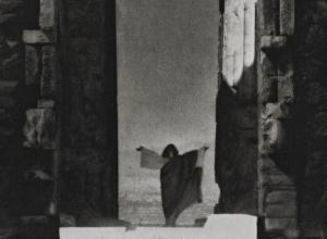 Isadora Duncan at the Portal of the Parthenon, Athens, 1921