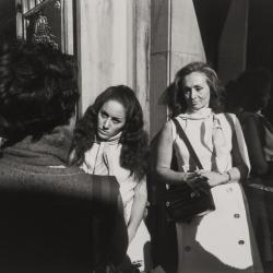 Two Women Listening