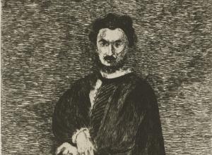 L'acteur tragique (The Tragic Actor: Philibert Rouvière in the role of Hamlet)